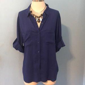 Women Button Down Shirt.